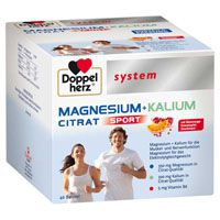 DOPPELHERZ Magnesium+Kalium Citrat system Granulat