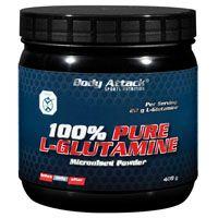 100% PURE L-Glutamine Pulver